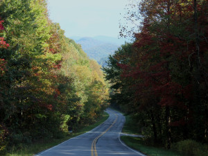 Appalachian Highway at Southern Comfort Cabin Rentals.