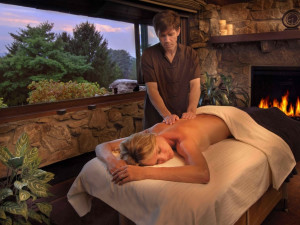 The spa at The Grove Park Inn Resort & Spa.