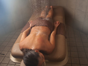 Spa treatment at Grand Traverse Resort.