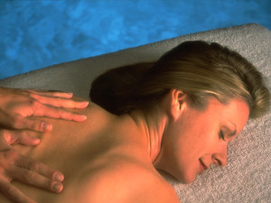 Spa massage at Sandestin Golf Resort.