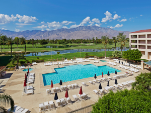 Outdoor pool at Doral Desert Princess Resort and Spa.