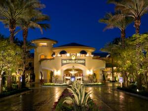 Exterior view of Spa Resort Casino.