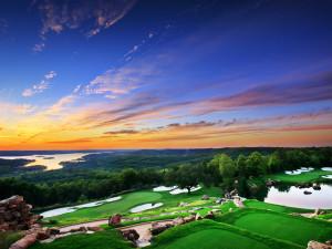 Golf course at Big Cedar Lodge.