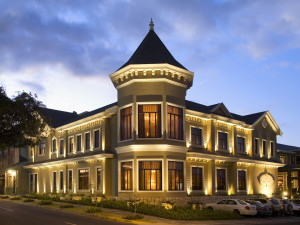 Exterior view of Hotel Grano de Oro.