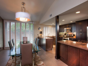 Villa kitchen at Sundance Villas.