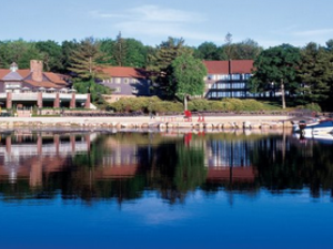 Resort View From Lake at Split Rock Resort & Golf Club