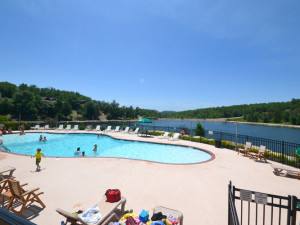 Outdoor pool at Stonebridge Resort.