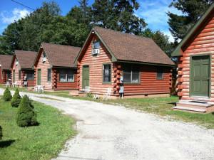 Cabin exterior at The Lanesborough Country Inn.