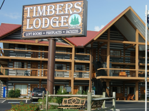 Exterior View of Timbers Lodge