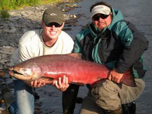 Fishing at Northwoods Lodge.