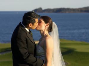 Wedding Couple at The Samoset Resort
