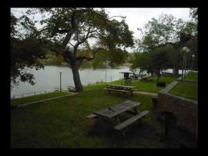 Condo grounds at Heart of Texas Lake Resort.