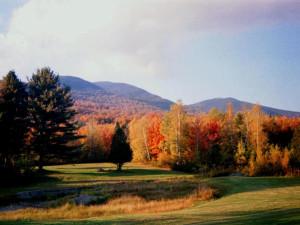 Golf course near English Rose Inn.