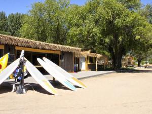 Beach rentals at Barefoot Beach Resort.