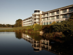 Exterior view of St Mellion Hotel, Golf & Country Club.
