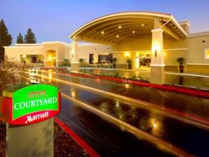 Exterior view of Courtyard Sacramento Cal Expo.