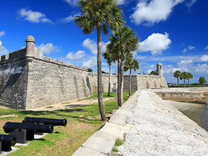 St. Augustine Florida near Holiday Isle Oceanfront Resort.