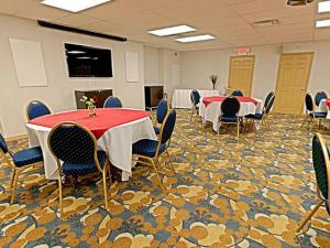Meeting room at Carriage Ridge Resort at Horseshoe Valley.