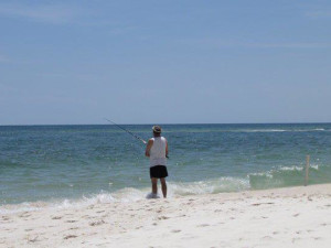 Ocean fishing at Pointe South.