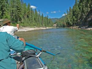Fishing at The Resort at Paws Up.