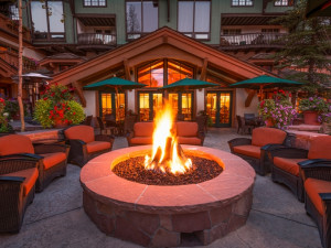 Patio at Red The Lodge At Vail.