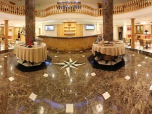 Lobby at Crowne Plaza Shanghai.