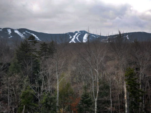 Mountain view at Chalet Killington.