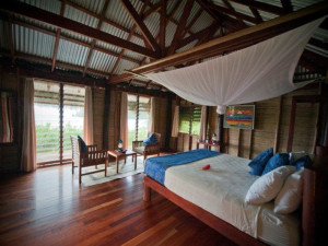 Guest room at Matava Resort.