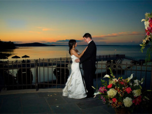 Wedding Couple at Bar Harbor Regency