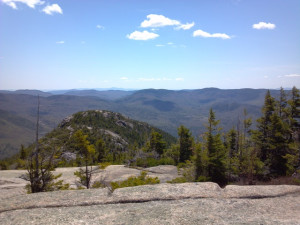 Mountain view at Best Western White Mountain Inn.