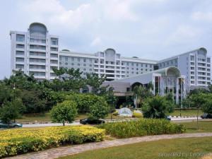 Exterior view of Sama-Sama Kuala Lumpur International Airport.