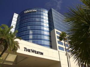 Exterior view of The Westin Fort Lauderdale.