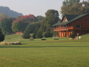 Exterior view of Cedar Valley Resort.