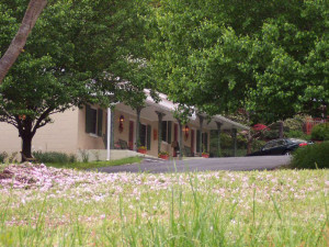 Cottage exterior at Mountain Aire Cottages & Vacation Rentals.