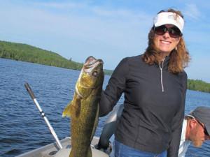 Fishing at Hungry Jack Lodge.