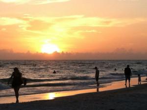 The beach at iTrip - St. Pete Beach.