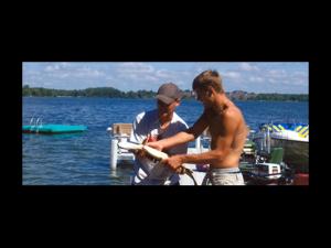 Fishing at Shady Lawn Resort.