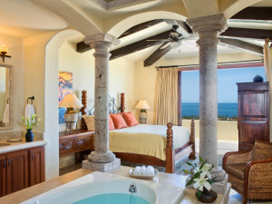 Rental bedroom at Luxury Villa Collections.