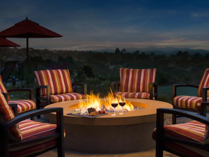 Fire pit at Residence Inn by Marriott Palm Desert.