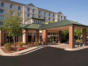 Exterior view of Hilton Garden Inn Plymouth.