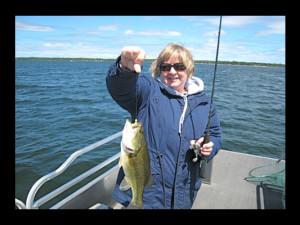 Fishing at Lake Edward Resort.