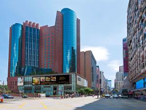 Exterior view of Eaton Hotel Hong Kong.