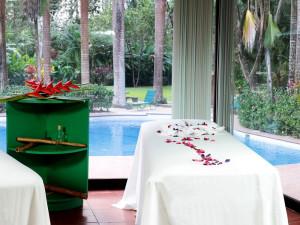 Spa Table at Barcelo Tambor Beach Resort