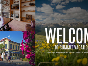 Welcome pictures of Summit Vacations.