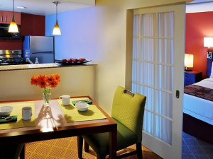 Guest room at Inn by Marriott Dallas - Central Expressway.