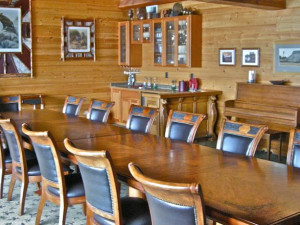 Meeting room at The Lodge at Sandpoint.