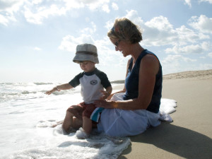 Family vacations at Bald Head Island.