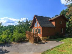Vacation rental exterior at Stony Brook Chalets.