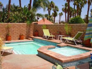 Villa pool at Sundance Villas.