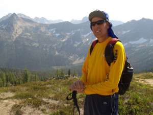Hiking at Timberline Meadows Lodges.
